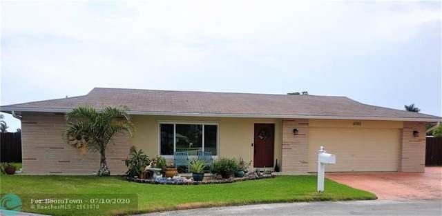 6703 NW 92nd Ter, Tamarac, FL 33321 (MLS #F10237646) :: Green Realty Properties