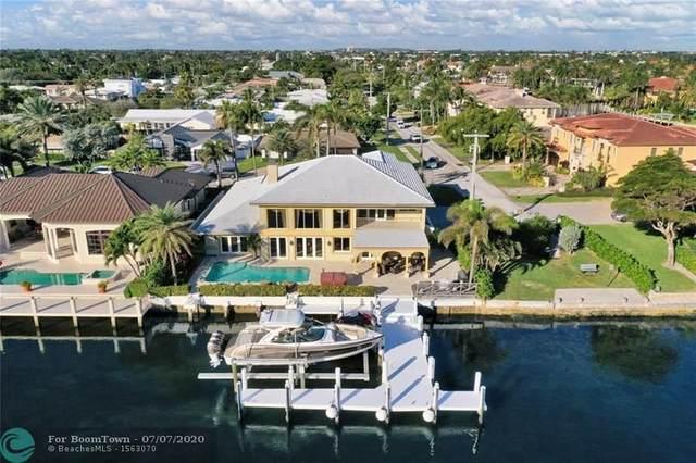 3580 NE 31ST AVE, Lighthouse Point, FL 33064 (MLS #F10237690) :: Berkshire Hathaway HomeServices EWM Realty