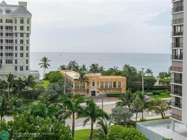 2001 N Ocean Blvd #702, Fort Lauderdale, FL 33305 (#F10237697) :: The Rizzuto Woodman Team