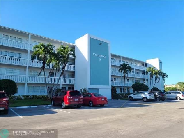 3079 Cambridge D #3079, Deerfield Beach, FL 33442 (MLS #F10237739) :: Green Realty Properties