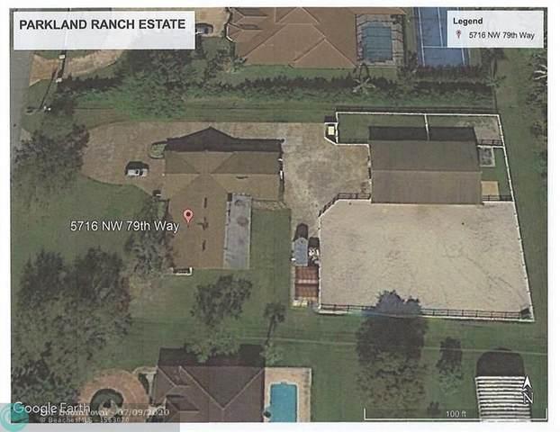 5716 NW 79 WAY, Parkland, FL 33067 (MLS #F10238104) :: Berkshire Hathaway HomeServices EWM Realty