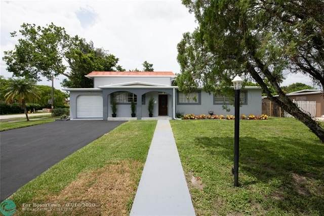 6941 NW 14th St, Plantation, FL 33313 (MLS #F10238269) :: Green Realty Properties