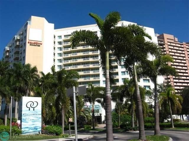 2670 E Sunrise Blvd #1107, Fort Lauderdale, FL 33304 (MLS #F10238460) :: Green Realty Properties