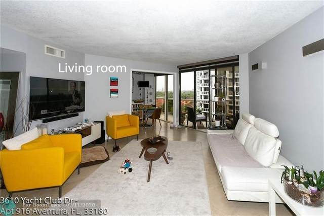 3610 Yacht Club Dr #916, Aventura, FL 33180 (MLS #F10238535) :: Green Realty Properties