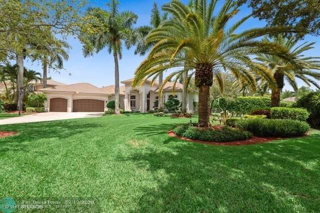 6757 NW 101st Ter, Parkland, FL 33076 (MLS #F10238556) :: Green Realty Properties