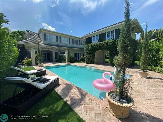 724 NE 25th Way, Fort Lauderdale, FL 33304 (#F10238894) :: Posh Properties