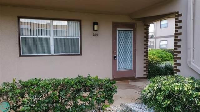 290 Brittany G #290, Delray Beach, FL 33446 (MLS #F10239690) :: Berkshire Hathaway HomeServices EWM Realty