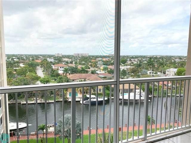 1391 S Ocean Blvd #805, Pompano Beach, FL 33062 (#F10239699) :: Posh Properties