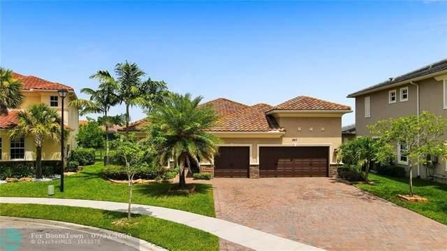 8871 Edgewater Pl, Parkland, FL 33076 (#F10239769) :: Signature International Real Estate