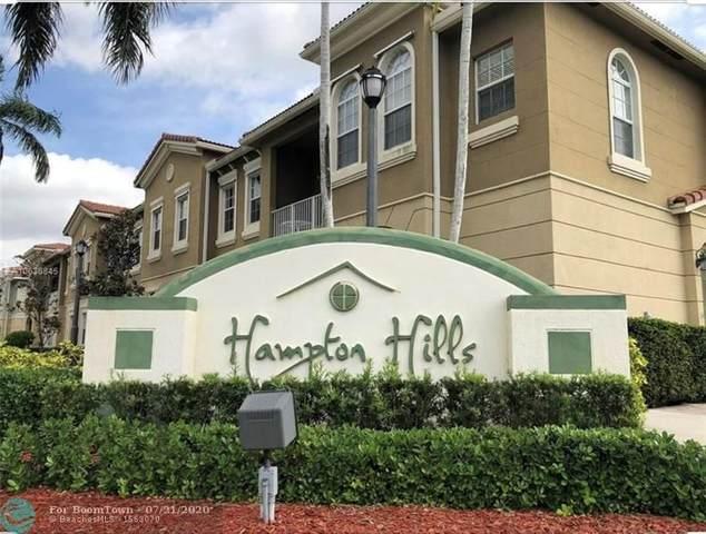 5864 Hampton Hills Blvd #6201, Tamarac, FL 33321 (MLS #F10240162) :: Berkshire Hathaway HomeServices EWM Realty