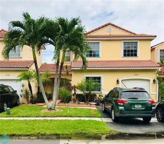 17331 NW 6th St, Pembroke Pines, FL 33029 (#F10241092) :: Posh Properties