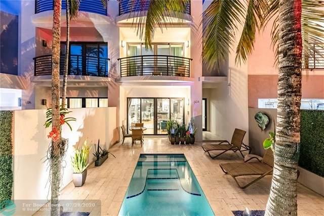 604 NE 14 Avenue, Fort Lauderdale, FL 33304 (MLS #F10241212) :: Laurie Finkelstein Reader Team