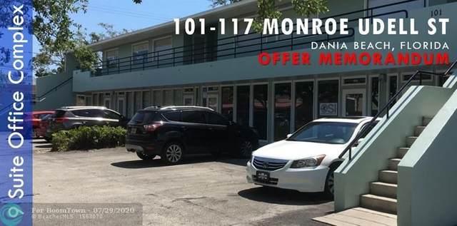 101 SW 1st St, Dania Beach, FL 33004 (#F10241365) :: The Rizzuto Woodman Team