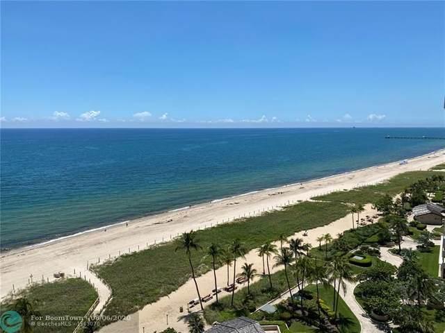 5100 N Ocean Blvd #1507, Lauderdale By The Sea, FL 33308 (#F10241479) :: Ryan Jennings Group