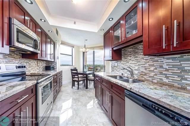7100 Radice Ct #707, Lauderhill, FL 33319 (MLS #F10241544) :: Green Realty Properties