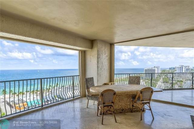 100 S Birch Rd 1701A, Fort Lauderdale, FL 33316 (MLS #F10241632) :: The Howland Group