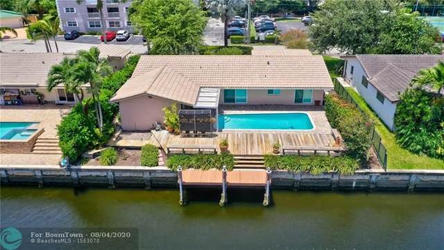 5900 NE 14th Ln, Fort Lauderdale, FL 33334 (MLS #F10242044) :: The Howland Group