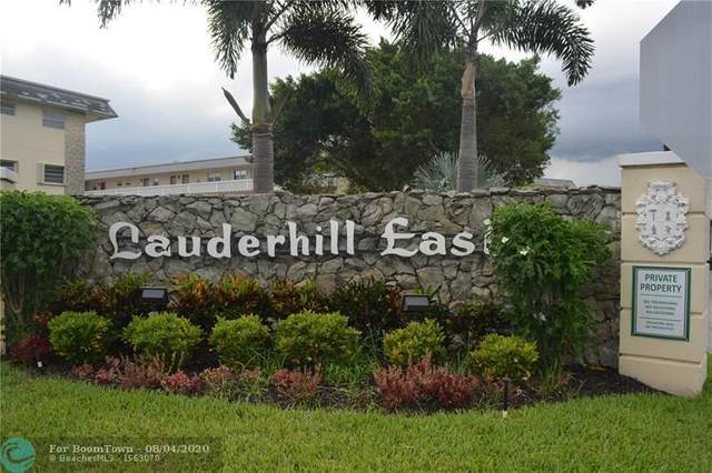 4321 NW 16th St C310, Lauderhill, FL 33313 (MLS #F10242344) :: Lucido Global