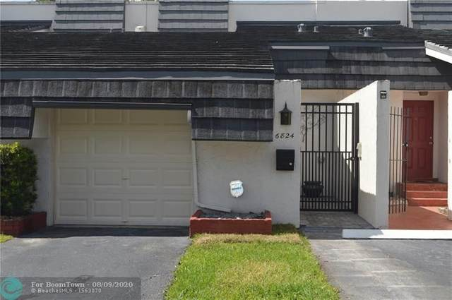 6824 NW 5th St #107, Plantation, FL 33317 (MLS #F10242724) :: United Realty Group