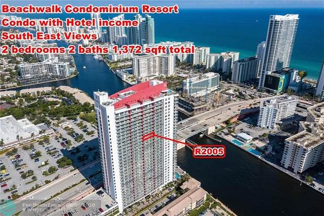 2602 E Hallandale Beach Bl R2005, Hallandale, FL 33009 (MLS #F10242766) :: Lucido Global