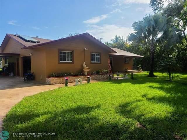 14301 SW 20th St, Davie, FL 33325 (MLS #F10242932) :: Green Realty Properties