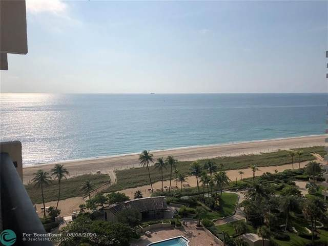 5100 N Ocean Blvd #1501, Lauderdale By The Sea, FL 33308 (MLS #F10243073) :: The Howland Group
