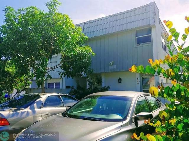 980 SW 80th Ave B, North Lauderdale, FL 33068 (#F10243205) :: Manes Realty Group