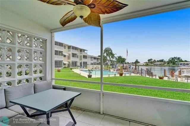 700 Pine Dr #103, Pompano Beach, FL 33060 (#F10243429) :: Posh Properties