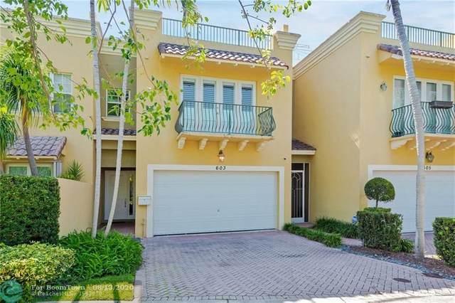603 NE 17th Way, Fort Lauderdale, FL 33304 (MLS #F10243518) :: Green Realty Properties