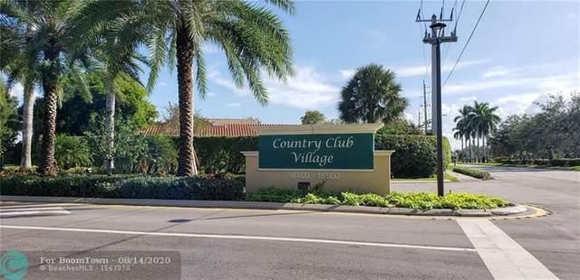 16325 Golf Club Rd #213, Weston, FL 33326 (MLS #F10244058) :: Castelli Real Estate Services