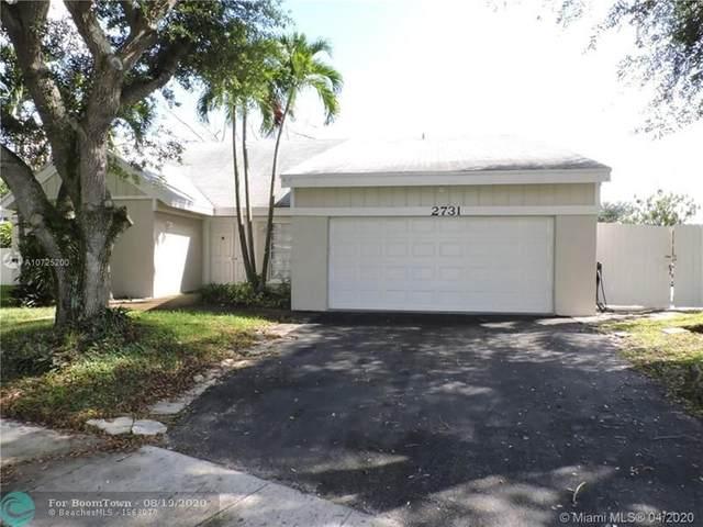 2731 Devonwood Ave, Miramar, FL 33025 (MLS #F10244824) :: Berkshire Hathaway HomeServices EWM Realty