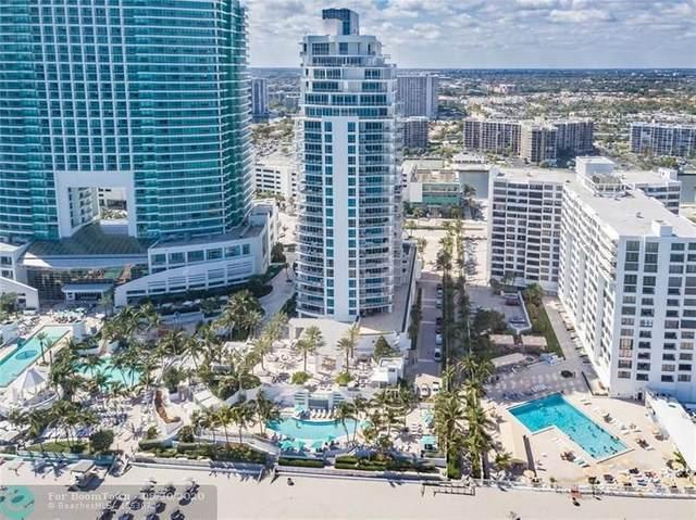 3535 S Ocean Dr #1404, Hollywood, FL 33019 (MLS #F10245030) :: Berkshire Hathaway HomeServices EWM Realty