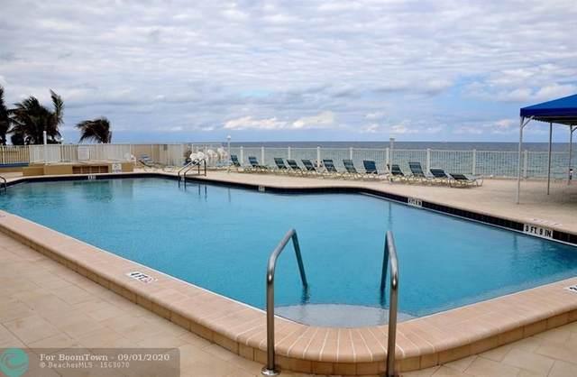 4050 N Ocean Dr #902, Lauderdale By The Sea, FL 33308 (MLS #F10246498) :: Berkshire Hathaway HomeServices EWM Realty