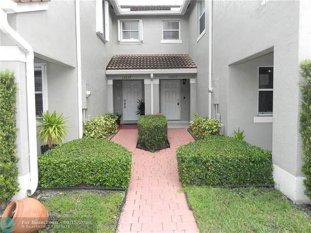 12657 SW 54th Ct, Miramar, FL 33027 (MLS #F10248918) :: Green Realty Properties