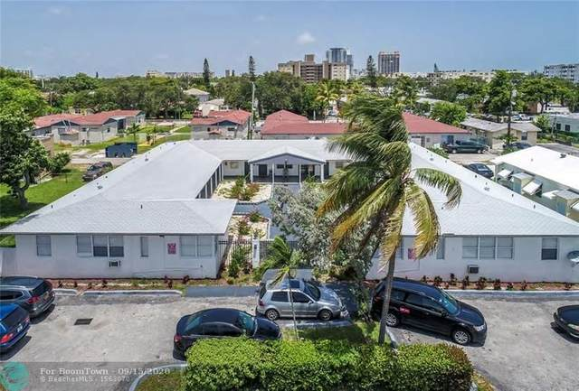 1823 Dewey St, Hollywood, FL 33020 (#F10249103) :: Posh Properties