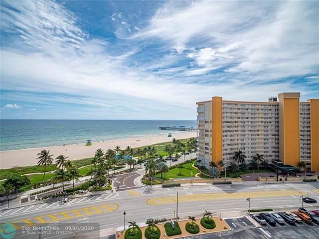 405 N Ocean Blvd #1106, Pompano Beach, FL 33062 (#F10249121) :: Posh Properties