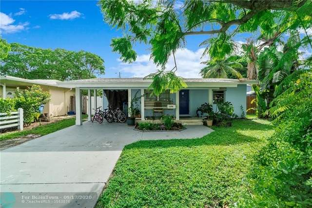 5296 NE 2nd Ter, Oakland Park, FL 33334 (MLS #F10249423) :: Berkshire Hathaway HomeServices EWM Realty