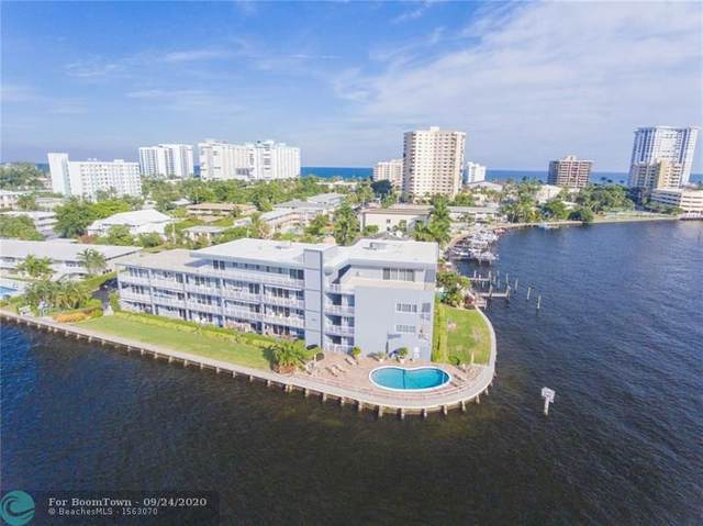 1201 S Riverside Dr #307, Pompano Beach, FL 33062 (MLS #F10249670) :: Berkshire Hathaway HomeServices EWM Realty