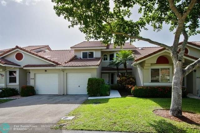 7450 S Pinewalk Dr 7-2, Margate, FL 33063 (MLS #F10249866) :: Patty Accorto Team