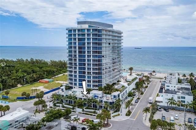 701 N Ft Lauderdale Blvd Th4, Fort Lauderdale, FL 33304 (MLS #F10250093) :: Berkshire Hathaway HomeServices EWM Realty
