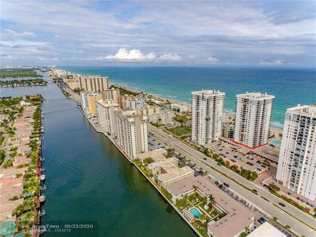 2201 S Ocean Dr #1602, Hollywood, FL 33019 (MLS #F10250386) :: Castelli Real Estate Services