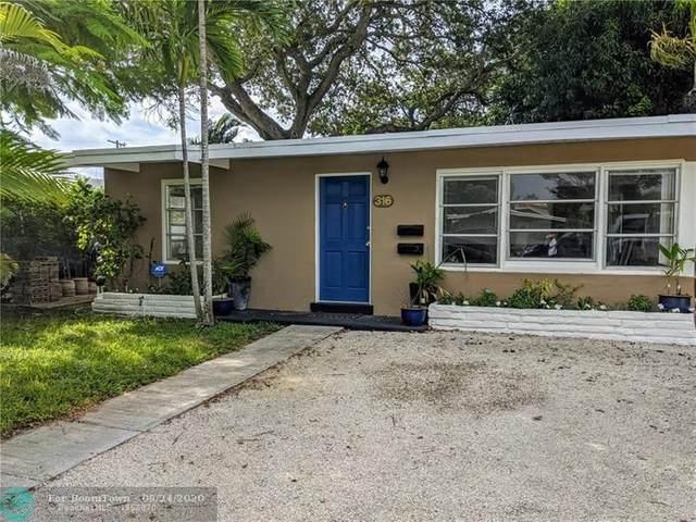 316 SW 21st St, Fort Lauderdale, FL 33315 (MLS #F10250428) :: Miami Villa Group