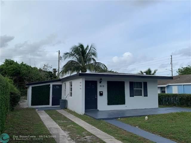 809 39th Street, West Palm Beach, FL 33407 (MLS #F10250491) :: The Howland Group