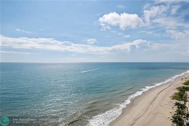 4300 N Ocean Blvd 17P, Fort Lauderdale, FL 33308 (MLS #F10250964) :: Lucido Global