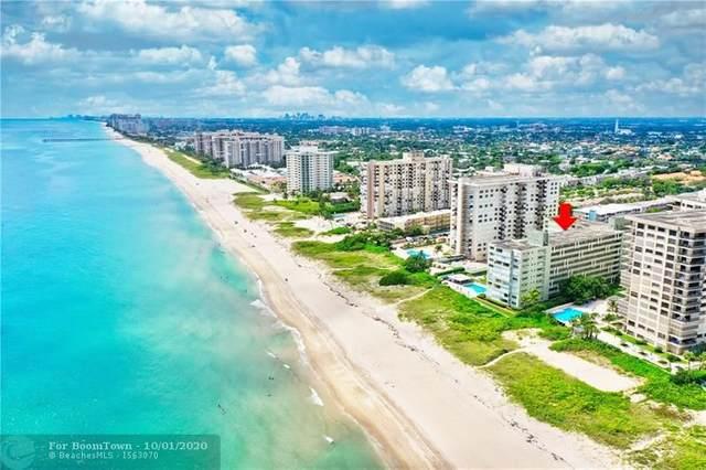 1850 S Ocean Blvd #304, Lauderdale By The Sea, FL 33062 (MLS #F10251529) :: Berkshire Hathaway HomeServices EWM Realty
