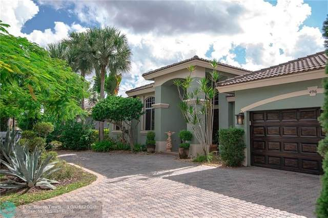 496 NW 118th Ave, Coral Springs, FL 33071 (MLS #F10251602) :: The Howland Group