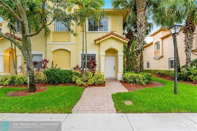 2665 SW 83rd Ter #105, Miramar, FL 33025 (MLS #F10251650) :: Berkshire Hathaway HomeServices EWM Realty