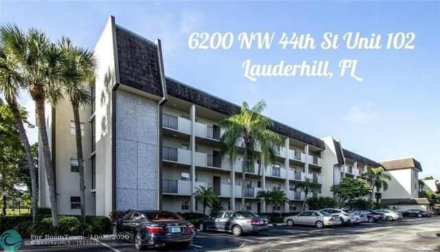 6200 NW 44th St #102, Lauderhill, FL 33319 (MLS #F10252405) :: Green Realty Properties