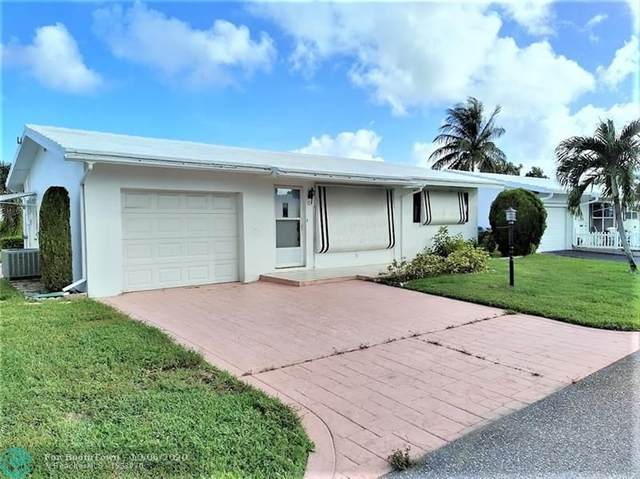 171 NW 27th St, Pompano Beach, FL 33064 (MLS #F10252587) :: Berkshire Hathaway HomeServices EWM Realty