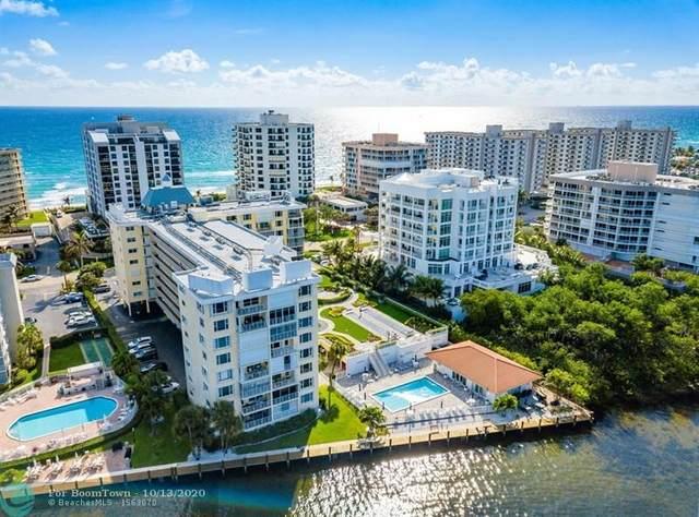 3114 S Ocean Blvd #207, Highland Beach, FL 33487 (#F10253630) :: The Power of 2 Group | Century 21 Tenace Realty